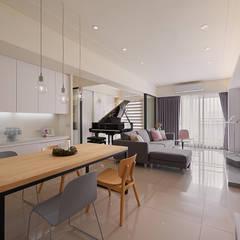 Living room by 趙玲室內設計