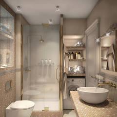 Интерьерное решение ванной комнаты: Ванные комнаты в . Автор – dp_interior