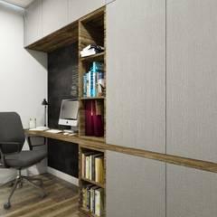 Domowe biuro: styl , w kategorii Domowe biuro i gabinet zaprojektowany przez MONOstudio