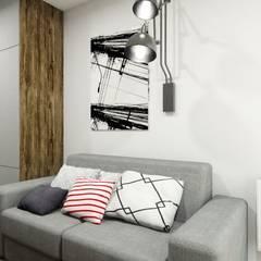 Biuro domowe: styl , w kategorii Domowe biuro i gabinet zaprojektowany przez MONOstudio