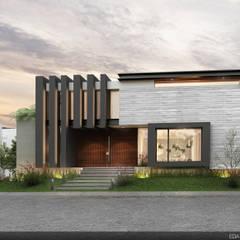 Casa Los Naranjos : Casas de estilo  por EBA Architecture & Desing