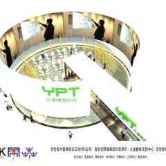 京悅設計 - YPT國際展覽會館設計案:  辦公大樓 by 京悅室內裝修設計工程(有)公司|真水空間建築設計居研所