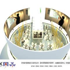 京悅設計 - YPT國際展覽會館設計案:  購物中心 by 京悅室內裝修設計工程(有)公司|真水空間建築設計居研所