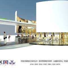 京悅設計 - YPT國際展覽會館設計案:  飯店 by 京悅室內裝修設計工程(有)公司|真水空間建築設計居研所,