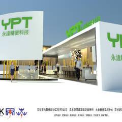 京悅設計 - YPT國際展覽會館設計案:  診所 by 京悅室內裝修設計工程(有)公司|真水空間建築設計居研所