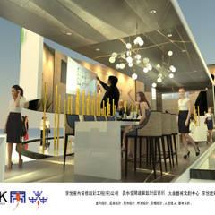 京悅設計 - YPT國際展覽會館設計案:  酒吧&夜店 by 京悅室內裝修設計工程(有)公司|真水空間建築設計居研所