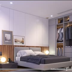 CĂN HỘ PARAGON:  Phòng ngủ by ITALIC DECOR