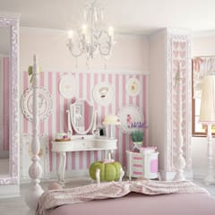 Nursery/kid's room by дизайн-студия ПРОСТРАНСТВО ДИЗАЙНА