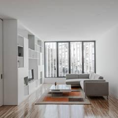 اتاق نشیمن by Plano Humano Arquitectos