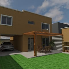 Vivienda JT: Casas de estilo  por Gastón Blanco Arquitecto