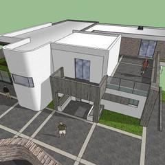Casa en El Hatillo: Casas de estilo  por MARATEA Estudio,
