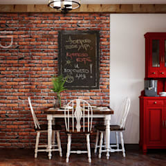 ВКУСНЫЙ ИНТЕРЬЕР ДЛЯ МАЛЕНЬКОЙ КУХНИ: Кухни в . Автор – Студия дизайна Interior Design IDEAS