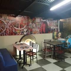 ESPACIO INTERNO: Restaurantes de estilo  por Arq. Alberto Quero