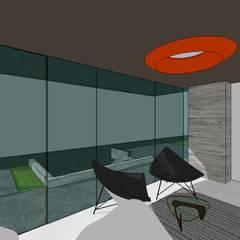 Edificio Multifamiliar: Oficinas de estilo  por MARATEA Estudio, Minimalista