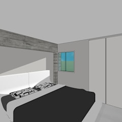 Edificio Multifamiliar: Cuartos de estilo  por MARATEA Estudio, Minimalista