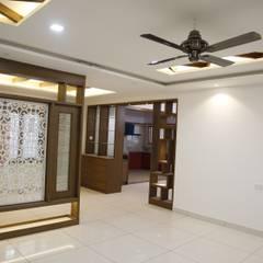 اتاق نشیمن by Scale Inch Pvt. Ltd.