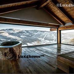 Wanna z kamienia polnego / kamienia rzecznego - wanny z kamienia produkcja: styl , w kategorii Łazienka zaprojektowany przez Lux4home™