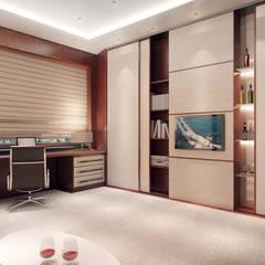 Апартаменты «VIP КАЮТА» : Рабочие кабинеты в . Автор – ART Studio Design & Construction