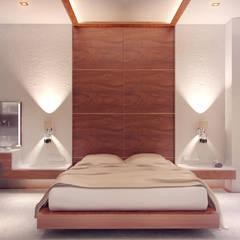 Cuartos de estilo  por ART Studio Design & Construction, Mediterráneo