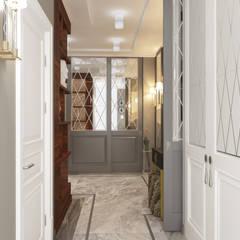 Апартаменты «НЬЮ-ЙОРКСКИЙ ШИК»: Коридор и прихожая в . Автор – ART Studio Design & Construction