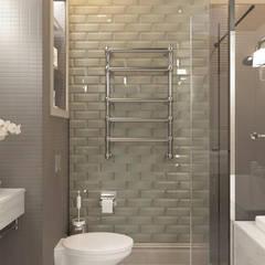 Апартаменты «НЬЮ-ЙОРКСКИЙ ШИК»: Ванные комнаты в . Автор – ART Studio Design & Construction