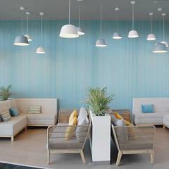 Lounge - Shopping 8ªAvenida: Centros comerciais  por MOYO Concept