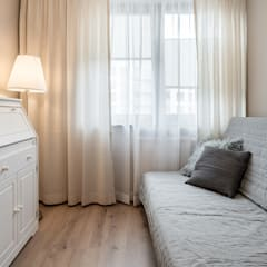 KLASYCZNE ŚRÓDMIEŚCIE: styl , w kategorii Domowe biuro i gabinet zaprojektowany przez KODO projekty i realizacje wnętrz