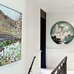 Bright Contemporary Home:  Corridor & hallway by Douglas Design Studio,Modern