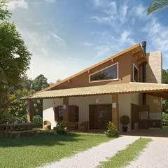 منازل تنفيذ daniel villela arquitetura