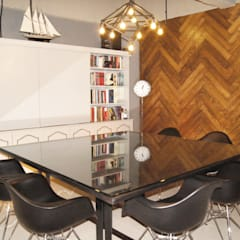 Sala de Juntas: Oficinas y tiendas de estilo  por Quinto Distrito Arquitectura