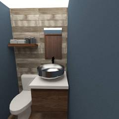 VIAS 4: Baños de estilo  por ARDIN INTERIORISMO