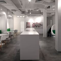 Leo Burnett Office:  Offices & stores by MinistryofDesign,Modern