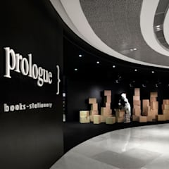 Prologue Bookstore:  Offices & stores by MinistryofDesign,Modern