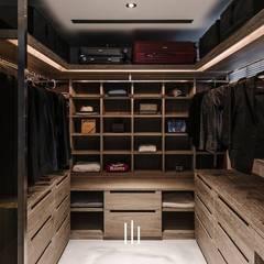 غرفة الملابس تنفيذ 山巷室內設計,