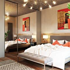 Schlafzimmer von Дарья Баранович Дизайн Интерьера