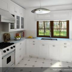 Projekt domu Dudek 2: styl , w kategorii Kuchnia zaprojektowany przez Biuro Projektów MTM Styl - domywstylu.pl