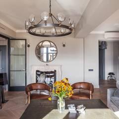 Living Room:  Living room by Hampstead Design Hub