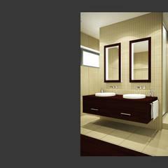 Bad 4:  Badezimmer von Schucker | Krumm Innenarchitektur