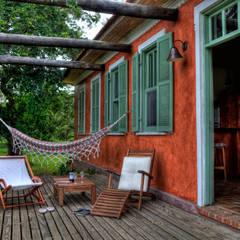 Fazenda Palmares - Ampliação: Casas  por CABRAL Arquitetos