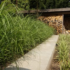 industriële tuin:  Terras door BMT
