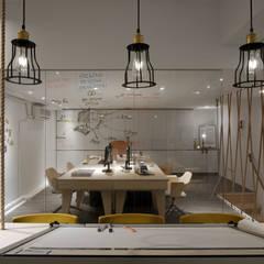 回歸最自然純淨的空間設計。:  辦公室&店面 by 有偶設計 YOO Design