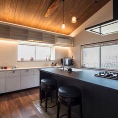 マンナカハウス: m5_architecteが手掛けたキッチンです。