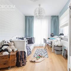 嬰兒房/兒童房 by Decoroom, 北歐風