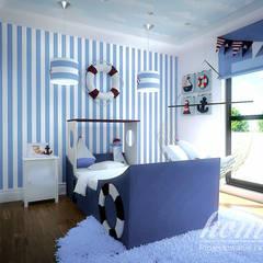 Stylowa mięta: styl , w kategorii Pokój dziecięcy zaprojektowany przez Home Atelier,