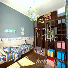 Hiszpańska dacza: styl , w kategorii Pokój dziecięcy zaprojektowany przez Home Atelier