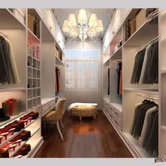 Dressing room by CÔNG TY CP XÂY DỰNG VÀ KIẾN TRÚC ĐẤT VIỆT, Classic