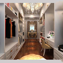 غرفة الملابس تنفيذ CÔNG TY CP XÂY DỰNG VÀ KIẾN TRÚC ĐẤT VIỆT