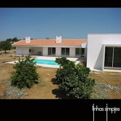 Casas mediterrâneas por Linhas Simples Mediterrâneo