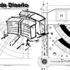 Proyecto Torre de Consultorios.: Estudios y oficinas de estilo  por MVR ARQUITECTOS  Estudio de Diseño y Arquitectura