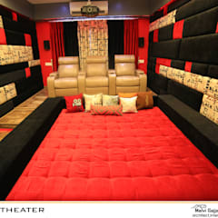 Media room by malvigajjar, Modern